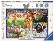 Ravensburger - 1000pc Disney Moments Bambi 1942 Jigsaw Puzzle | Merchandise