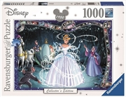 Ravensburger - 1000pc Disney Moments Cinderella 1950 Jigsaw Puzzle | Merchandise
