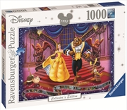 Ravensburger - 1000pc Disney Moments Beauty and the Beast 1991 Jigsaw Puzzle | Merchandise