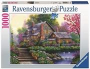 Ravensburger - 1000pc Romantic Cottage Jigsaw Puzzle | Merchandise