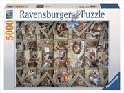 Ravensburger - 5000pc Sistine Chapel Jigsaw Puzzle | Merchandise