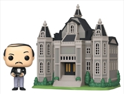 Batman - Alfred with Wayne Manor Pop! Town | Pop Vinyl