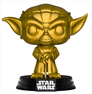 Star Wars - Yoda Gold Metallic US Exclusive Pop! Vinyl [RS] | Pop Vinyl