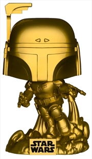 Star Wars - Jango Fett Gold Metallic US Exclusive Pop! Vinyl [RS] | Pop Vinyl