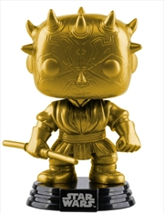 Star Wars - Darth Maul Gold Metallic US Exclusive Pop! Vinyl [RS] | Pop Vinyl
