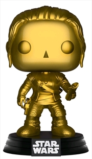 Star Wars - Rey Gold Metallic US Exclusive Pop! Vinyl [RS] | Pop Vinyl