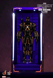 Iron Man 2 - War Machine Neon Tech Hall of Armour | Merchandise