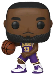 NBA: Lakers - Lebron James Pop! Vinyl | Pop Vinyl