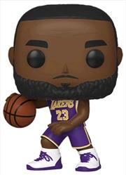 NBA: Lakers - Lebron James Pop! Vinyl | Pop Vinyl
