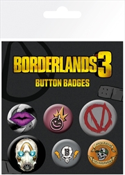 Borderlands 3 - Icons Badges | Merchandise