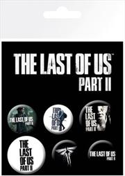 Last Of Us Part II Badges | Merchandise