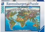 Ravensburger - 2000pc World Map Jigsaw Puzzle | Merchandise