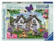 Ravensburger - 1000pc Delphinium Country Cottage Jigsaw Puzzle | Merchandise