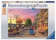 Ravensburger - 500pc A Paris Evening Jigsaw Puzzle | Merchandise