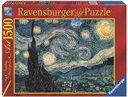 Ravensburger - 1500 Piece Van Gogh Starry Night Jigsaw Puzzle | Merchandise