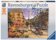 Ravensburger - 500pc A Walk Through Paris Jigsaw Puzzle | Merchandise