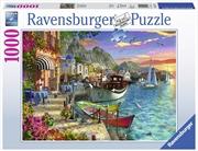 Ravensburger - 1000pc Grandiose Greece Jigsaw Puzzle | Merchandise