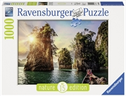 Ravensburger - 1000pc The Rocks in Cheow, Thailand Jigsaw Puzzle | Merchandise