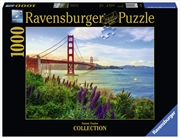 Ravensburger - 1000pc Golden Gate Sunrise Jigsaw Puzzle | Merchandise