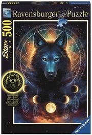 Ravensburger - 500pc Lunar Wolf Jigsaw Puzzle   Merchandise