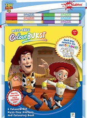 Colour Burst Disney Toy Story 4 Colouring Kit | Paperback Book