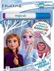 Inkredibles Frozen 2 Magic Ink Pictures   Paperback Book