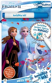 Inkredibles Frozen 2 Invisible Ink | Paperback Book