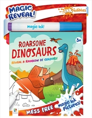 Inkredibles Magic Ink Pictures: Roarsome Dinosaurs | Paperback Book