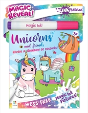 Inkredibles Magic Ink Pictures: Unicorns and More | Paperback Book