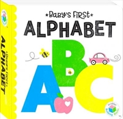 Building Blocks Neon Baby's First Alphabet | Hardback Book