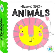Building Blocks Neon Baby's First Animals | Hardback Book