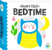 Building Blocks Neon Baby's First Bedtime | Hardback Book