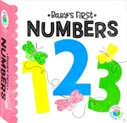 Building Blocks Neon Baby's First Numbers | Hardback Book