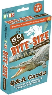 Bite-Size Activity Flashcards 50 Q & A Cards Australian Wildlife Facts & Activities | Merchandise