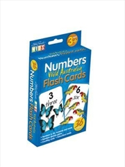 Numbers Wild Australia Flashcards | Merchandise