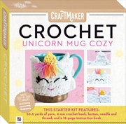 Crochet Unicorn Mug Cozy | Merchandise