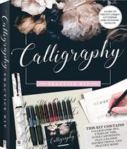 Calligraphy Practice Kit | Hardback Book