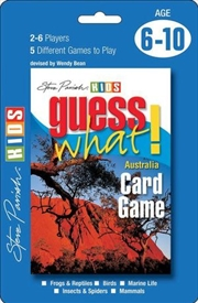 Guess What! Australia Card Game | Merchandise
