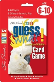 Guess What! : Australian Wildlife Card Game | Merchandise