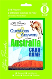 About Australia - Steve Parish: Questions & Answers Playing Cards | Merchandise