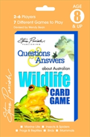 About Australian Wildlife Steve Parish - Questions and Answers Playing Cards | Merchandise