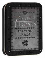 Game of Thrones Playing Cards Single Deck (Tin) | Merchandise