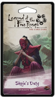 Legend of the Five Rings LCG Shojus Duty | Merchandise