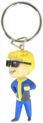 Fallout 76 Vault Boy Science 3D Keychain | Accessories