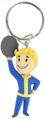 Fallout 76 Vault Boy Barter 3D Keychain | Accessories