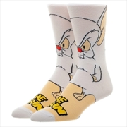 Pinky And The Brain 360 Crew Character Socks | Apparel