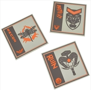 Call of Duty Black Ops 4 Silicone Coasters (3 Pack)   Merchandise