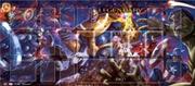 Marvel Legendary - Thanos vs Avengers Playmat | Merchandise