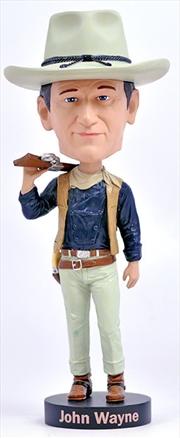 Bobblehead John Wayne Cowboy 8'   Merchandise