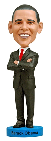 Bobblehead Barack Obama 8 Inch   Merchandise